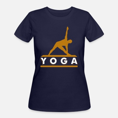 Yoga Meditation Yoga meditating - Women's 50/50 T-Shirt