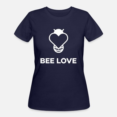 Loving Bee Bee Love - Women's 50/50 T-Shirt