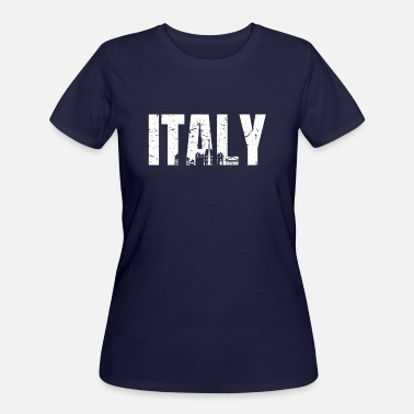 fe4bff68 Italy Rome Gift Italian - Women's 50/50 T-Shirt