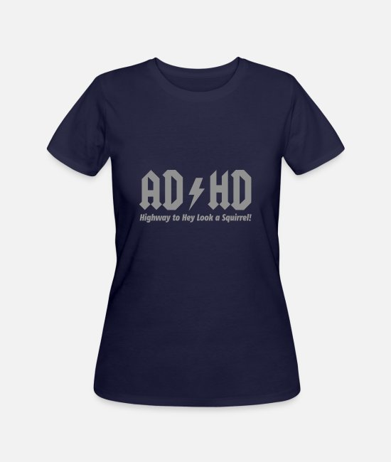 Movie T-Shirts - AD HD HIGHWAY TO - Women's 50/50 T-Shirt navy