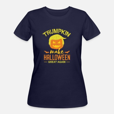 Trumpkin Trumpkin Make Halloween Great Again Funny - Women's 50/50 T-Shirt