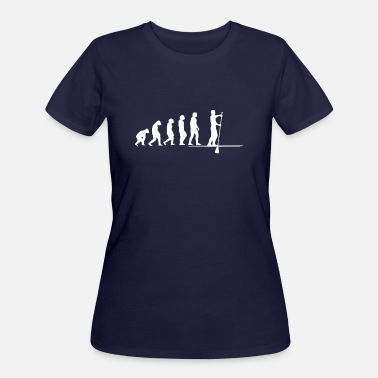 Stand Stand Up Paddling Evolution - Women's 50/50 T-Shirt