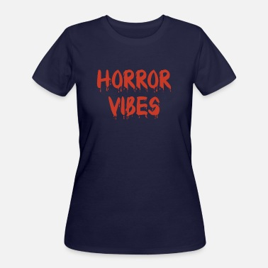 Funny Halloween Horror Vibes Pastel Goth Gothic - Women's 50/50 T-Shirt