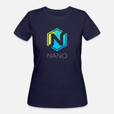 Formerly NANO (XRB) Distressed Tshirt (Formerly RaiBlocks) - Women's 50/50 T-Shirt