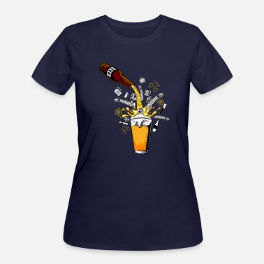 Hop Malt Craft Beer Universe Hops Malt - Women's 50/50 T-Shirt