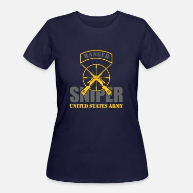 Us Army Ranger Ranger US Army Team Sniper - Women's 50/50 T-Shirt