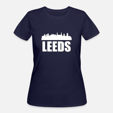 Leeds Leeds Skyline - Women's 50/50 T-Shirt