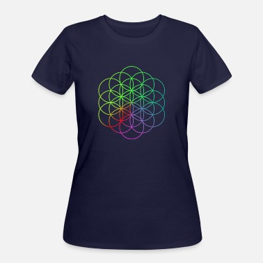 Coldplay Flower of Life - Women's 50/50 T-Shirt