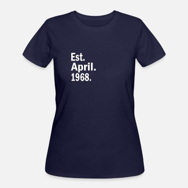 Est 1968 Est April 1968 - Women's 50/50 T-Shirt