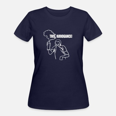 Arrogance This arrogance ! - Women's 50/50 T-Shirt