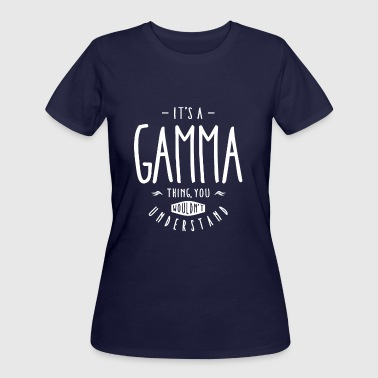 Gamma Thing - Women's 50/50 T-Shirt