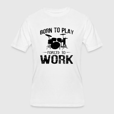 Drums Designs Drumming Designs - Men's 50/50 T-Shirt