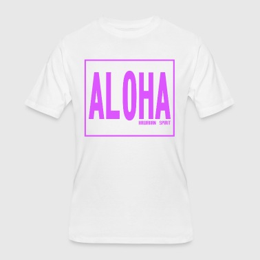 Hawaiian Culture Aloha - Hawaiian Spirit - Men's 50/50 T-Shirt