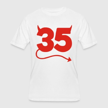 Funny 35th Birthday 35th Birthday Funny - Men's 50/50 T-Shirt