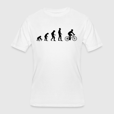 Evolution Cycling - Men's 50/50 T-Shirt