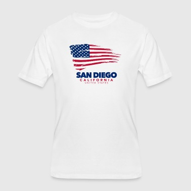 San Diego - California - SB HiRO - Men's 50/50 T-Shirt