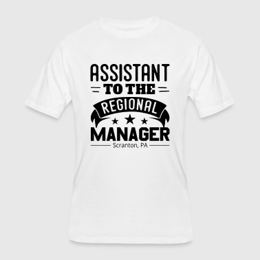 Regional Manager Funny Funny Assistant To The Regional Manager - Men's 50/50 T-Shirt