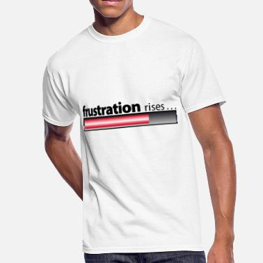 Frustration frustration rises / frustration / despair - Men's 50/50 T-Shirt