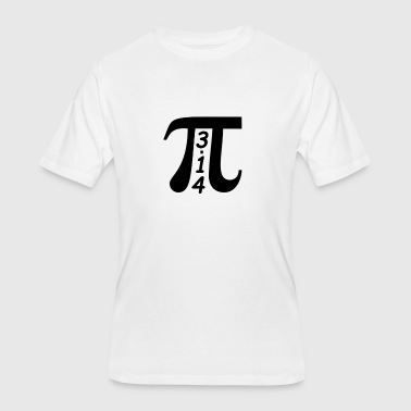 Pi Day March 14 - 3/14 - Men's 50/50 T-Shirt