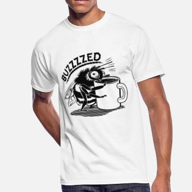 Buzz Coffee Buzzed - Men's 50/50 T-Shirt