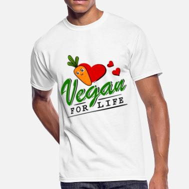 Vegan Life Vegan - Vegan for Life - Men's 50/50 T-Shirt