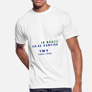 Peace In Brazil - TMY Since 1982 - Men's 50/50 T-Shirt