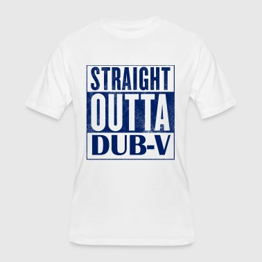 V Dub STRAIGHT OUTTA DUB-V - Men's 50/50 T-Shirt