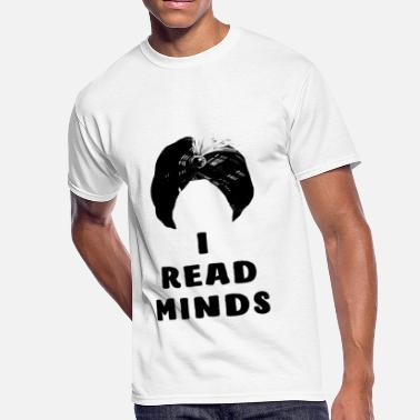 Mind Reading I Read Minds - Men's 50/50 T-Shirt