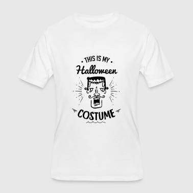 This Is My Costume Frankenstein Monster Halloween - Men's 50/50 T-Shirt