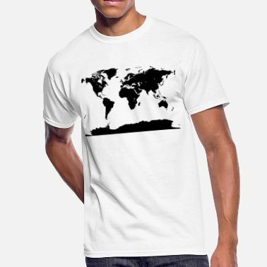 Atlas Continenntal - Men's 50/50 T-Shirt
