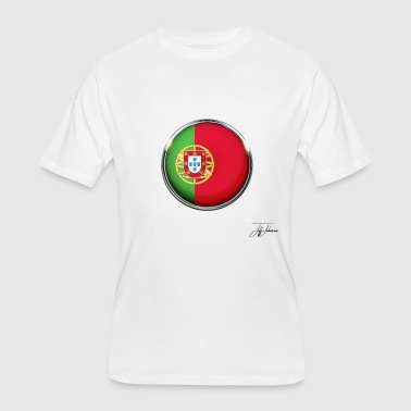 portugal flag national patriot land nationalist - Men's 50/50 T-Shirt