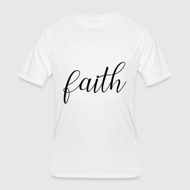 Faith - Men's 50/50 T-Shirt