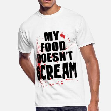 Scream my food doesn't scream 2 - Men's 50/50 T-Shirt
