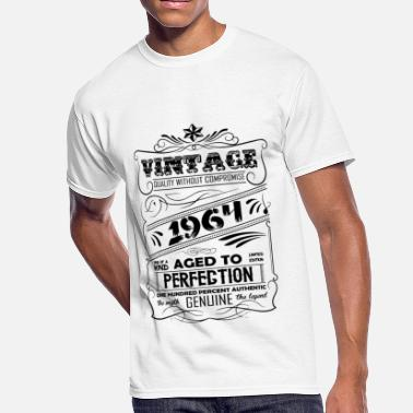 Vintage 1965 Aged To Perfection Vintage Aged To Perfection 1965 - Men's 50/50 T-Shirt