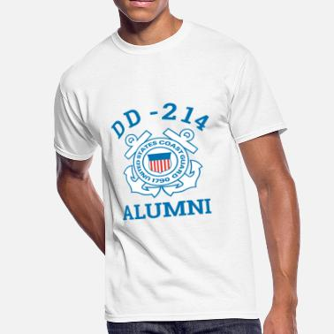 Seaman Military Coast Guard Veteran Shirt DD 214 Alumni Tee - Men's 50/50 T-Shirt