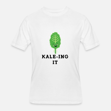 Kale Yale Kaleing It Kale Art for Vegans Vegetarians Light - Men's 50/50 T-Shirt