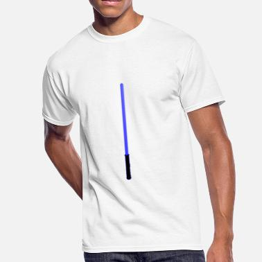 Laser Sword Blue Laser Sword - Men's 50/50 T-Shirt