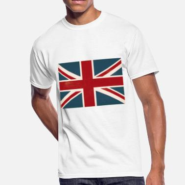 1a4381b1c Union Jack VINTAGE UNION JACK BRITISH FLAG - Men's 50/50