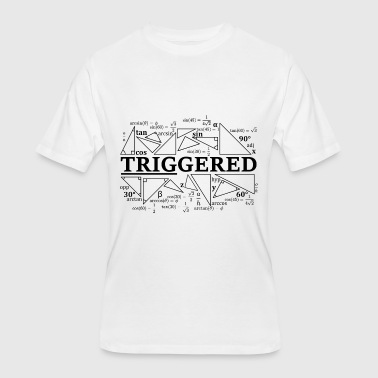Lambda Calculus Trigonometry Triggered - Men's 50/50 T-Shirt