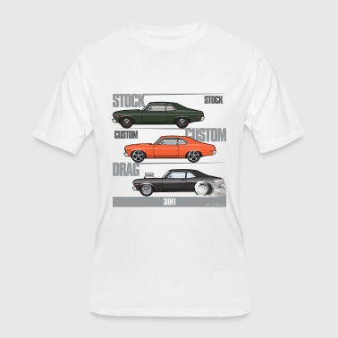 3in1 Novas - Men's 50/50 T-Shirt