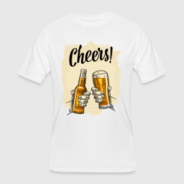 CHEERS - Men's 50/50 T-Shirt