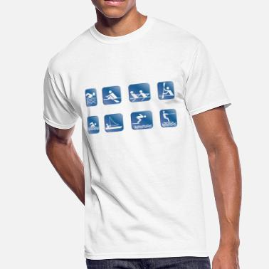 Sail watersports - Men's 50/50 T-Shirt