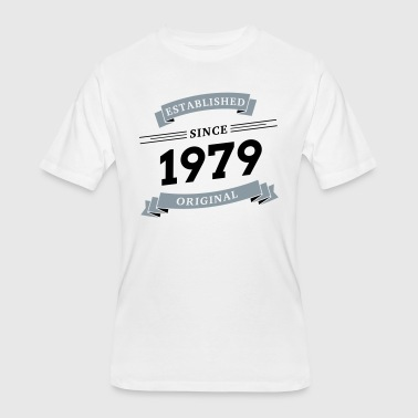 Established 1979 Established since 1979 - Men's 50/50 T-Shirt