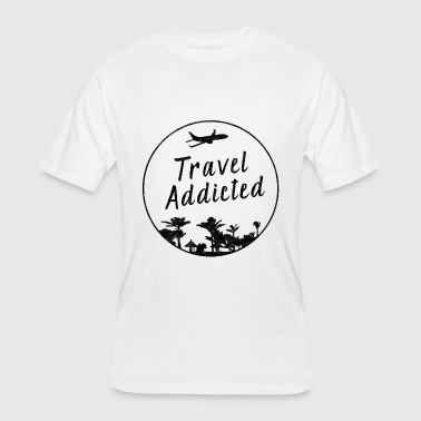 Addicted To Travel Travel Addicted - Men's 50/50 T-Shirt