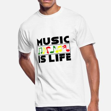 Chamber Music Music Musician Musical Notes Clef Gift - Men's 50/50 T-Shirt