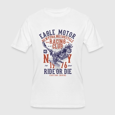 Motor Head Eagle Motor - Men's 50/50 T-Shirt