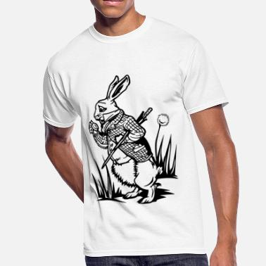 The White Rabbit The White Rabbit - Men's 50/50 T-Shirt