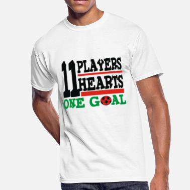 One Goal 11 players 11 hearts One Goal - Men's 50/50 T-Shirt