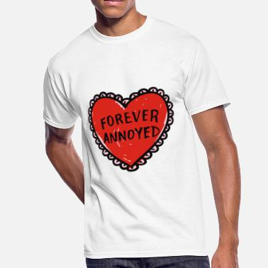 Annoyed Couples Forever Annoyed - Men's 50/50 T-Shirt