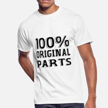 Original Parts 100% original parts - Men's 50/50 T-Shirt